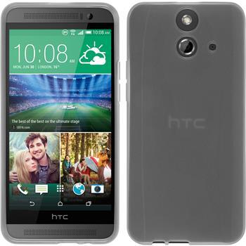 Silicone Case for HTC One E8 transparent white