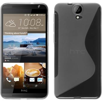 Silicone Case for HTC One E9+ S-Style transparent