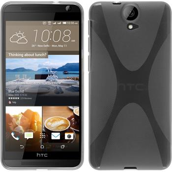 Silicone Case for HTC One E9+ X-Style transparent