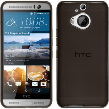 Silicone Case for HTC One M9 Plus transparent black