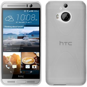 Silicone Case for HTC One M9 Plus X-Style transparent