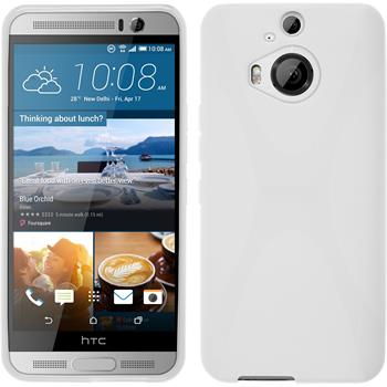 Silicone Case for HTC One M9 Plus X-Style white