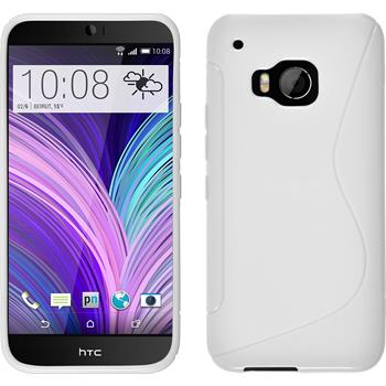 Silicone Case for HTC One M9 S-Style white