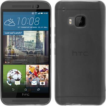Silicone Case for HTC One M9 Slimcase transparent