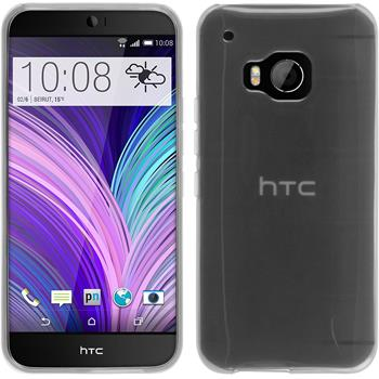Silicone Case for HTC One M9 transparent white