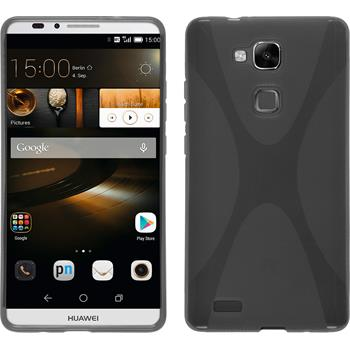 Silicone Case for Huawei Ascend Mate 7 X-Style gray