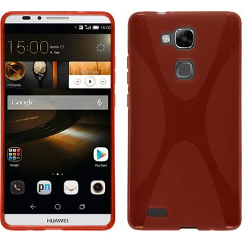 Silicone Case for Huawei Ascend Mate 7 X-Style red