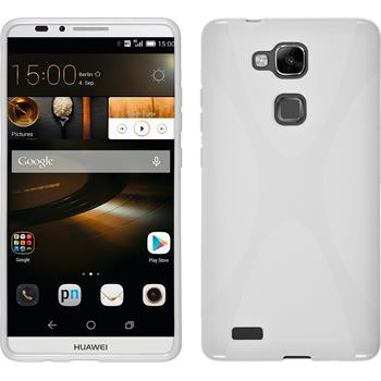 Silicone Case for Huawei Ascend Mate 7 X-Style white