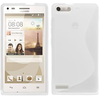 Silicone Case for Huawei Ascend P7 Mini S-Style transparent