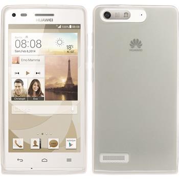 Silicone Case for Huawei Ascend P7 Mini transparent white