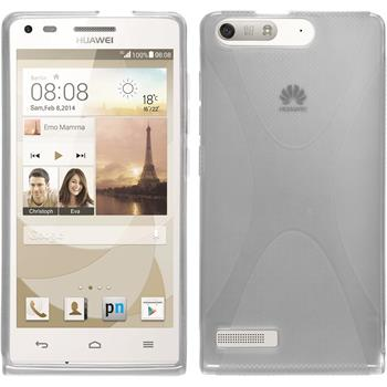 Silicone Case for Huawei Ascend P7 Mini X-Style transparent