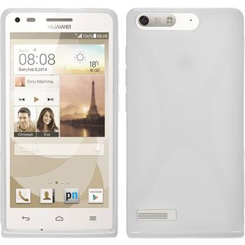 Silicone Case for Huawei Ascend P7 Mini X-Style white