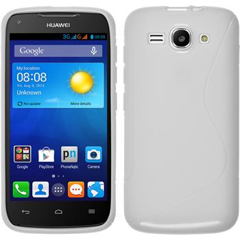Silicone Case for Huawei Ascend Y520 S-Style white