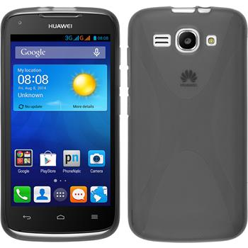 Silicone Case for Huawei Ascend Y520 X-Style gray