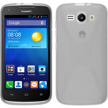 Silicone Case for Huawei Ascend Y520 X-Style transparent