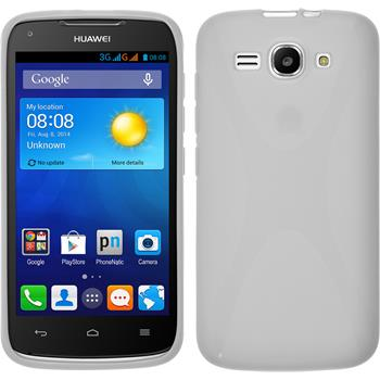 Silicone Case for Huawei Ascend Y520 X-Style white
