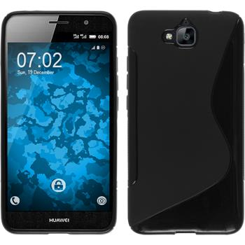 Silicone Case for Huawei Enjoy 5 S-Style black