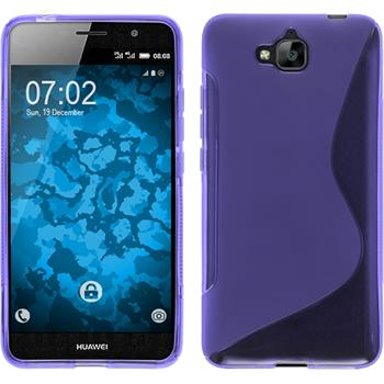 Silicone Case for Huawei Enjoy 5 S-Style purple