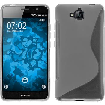 Silicone Case for Huawei Enjoy 5 S-Style transparent