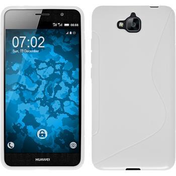 Silicone Case for Huawei Enjoy 5 S-Style white
