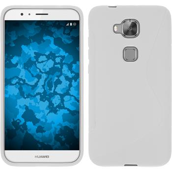Silicone Case for Huawei G8 S-Style white