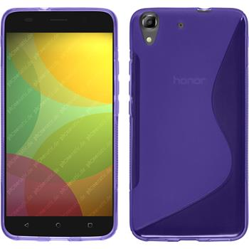 Silicone Case for Huawei Honor 4A S-Style purple