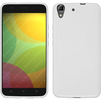 Silicone Case for Huawei Honor 4A S-Style white