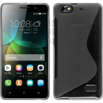 Silicone Case for Huawei Honor 4c S-Style transparent