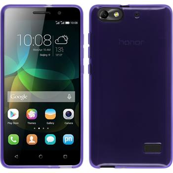 Silicone Case for Huawei Honor 4c transparent purple