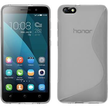 Silicone Case for Huawei Honor 4x S-Style transparent