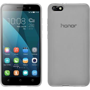 Silicone Case for Huawei Honor 4x transparent white