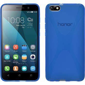 Silicone Case for Huawei Honor 4x X-Style blue