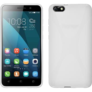 Silicone Case for Huawei Honor 4x X-Style white