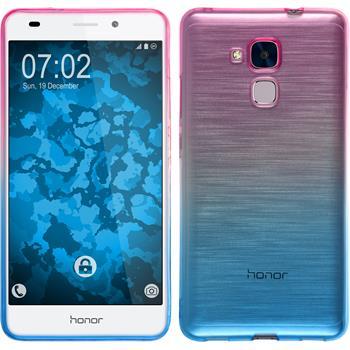 Silicone Case for Huawei Honor 5C Ombrè Design:06