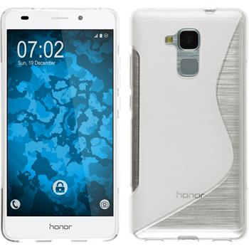 Silicone Case for Huawei Honor 5C S-Style transparent