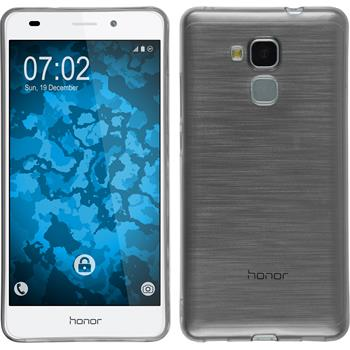 Silicone Case for Huawei Honor 5C Slimcase gray