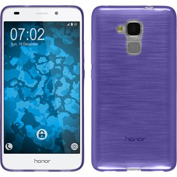 Silicone Case for Huawei Honor 5C transparent purple
