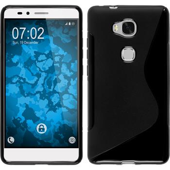 Silicone Case for Huawei Honor 5X S-Style black
