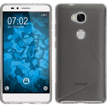 Silicone Case for Huawei Honor 5X S-Style gray