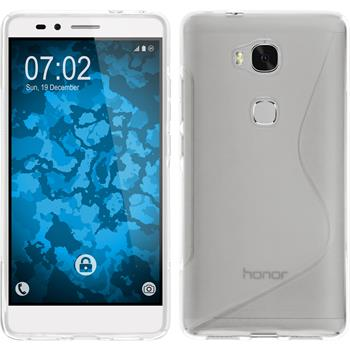 Silicone Case for Huawei Honor 5X S-Style transparent