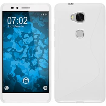 Silicone Case for Huawei Honor 5X S-Style white