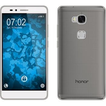 Silicone Case for Huawei Honor 5X Slimcase gray