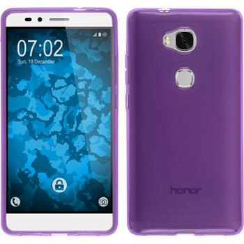 Silicone Case for Huawei Honor 5X transparent purple
