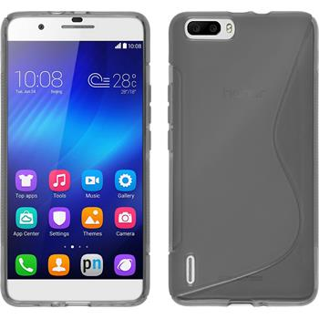 Silicone Case for Huawei Honor 6 Plus S-Style gray