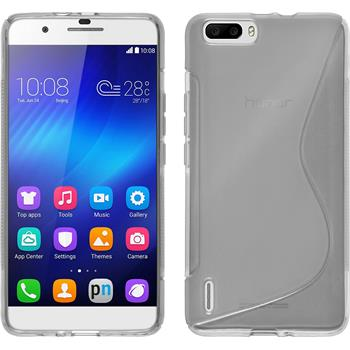 Silicone Case for Huawei Honor 6 Plus S-Style transparent