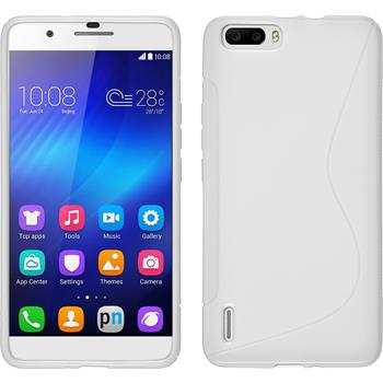 Silicone Case for Huawei Honor 6 Plus S-Style white