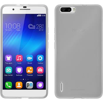 Silicone Case for Huawei Honor 6 Plus transparent white
