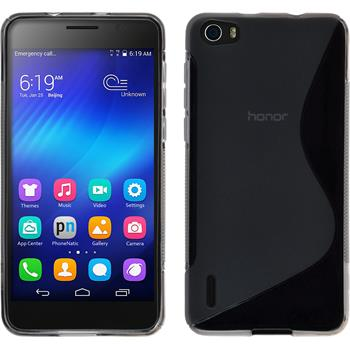 Silicone Case for Huawei Honor 6 S-Style gray