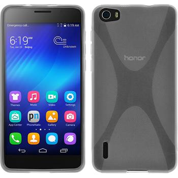 Silicone Case for Huawei Honor 6 X-Style transparent