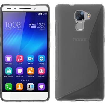 Silicone Case for Huawei Honor 7 S-Style gray
